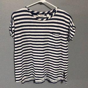 Vineyard Vines Striped Short Sleeve Shirt sz S